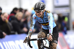February 3, 2018 - Valkenburg, Pays bas - Verdonschot Laura (BEL) in action during the 2018 UCI Cyclo-Cross World Championships for Women under 23 on February 03, 2018 (Credit Image: © Panoramic via ZUMA Press)