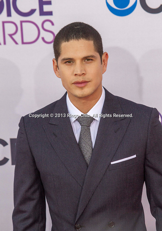 JD Pardo arrives at the 39th Annual People's Choice Awards at Nokia Theatre L.A. Live on Wednesday January 9, 2013 in Los Angeles, California, United States. (Photo by Ringo Chiu/PHOTOFORMULA.com)