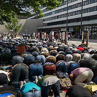 20 Kundgebung zur Schließung des Gebetsraumes der TU Berlin