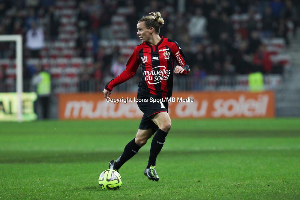 Niklas HULT - 03.12.2014 - Nice / Rennes - 16eme journee de Ligue 1 -<br /> Photo : Jean Christophe Magnenet / Icon Sport