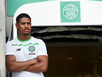 01/07/15 FRIENDLY MATCH<br /> CELTIC V DEN BOSCH<br /> ST MIRREN PARK - PAISLEY<br /> New Celtic signing Saidy Janko attends the pre-season friendly agains Den Bosch.