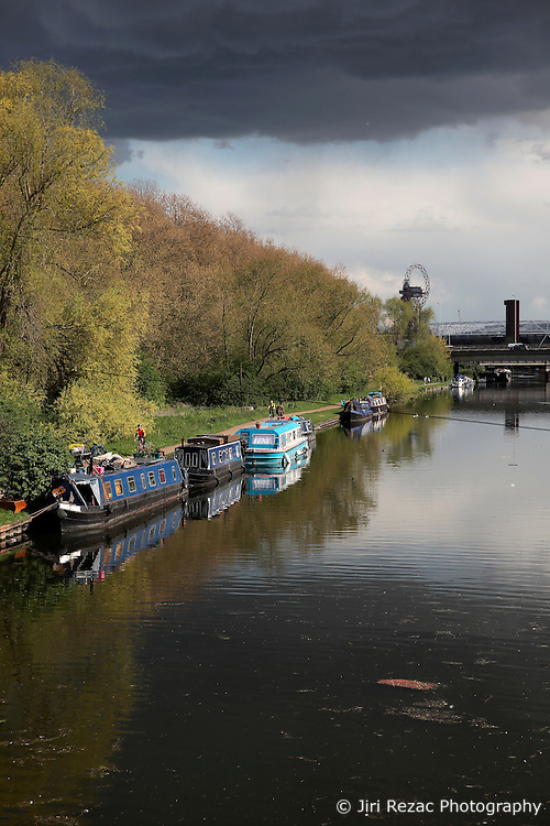 UK ENGLAND LONDON 30APR16 - London Canal boats near Hackney Wick, east London.<br /> <br /> jre/Photo by Jiri Rezac<br /> <br /> © Jiri Rezac 2016