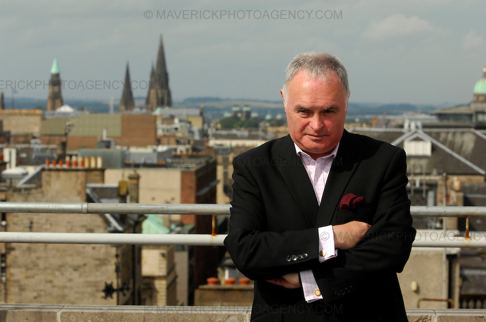 Gerry Boyle, brother of Britain's Got Talent runner-up Susan Boyle is launching his own record label under his new Instant World business...Instant Music, part of the Instant World brand, will be signing singers and musicians in a bid to help them make it as recording artists and are actively looking for stars of the future...Picture shows Gerry Boyle launching his Instant World business in Edinburgh.