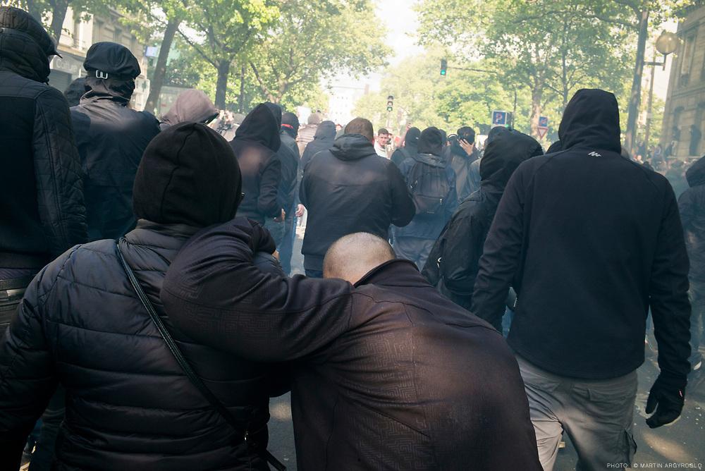 Manifestation du 1er mai à Paris.