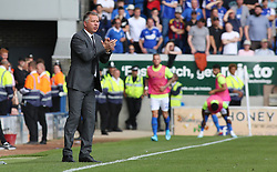 Peterborough United Manager Darren Ferguson encourages his players from the touchline - Mandatory by-line: Joe Dent/JMP - 17/08/2019 - FOOTBALL - Weston Homes Stadium - Peterborough, England - Peterborough United v Ipswich Town - Sky Bet League One