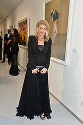 HOFIT GOLAN at a private view of Dancing Away featuring work by Mikhail Baryshnikov held at ContiniArtUK, 105 New Bond Street, London on 27th November 2014.