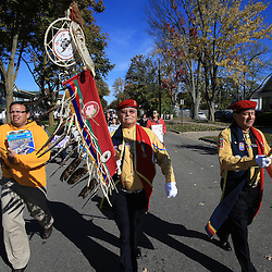 Saginaw Chippewa March to Campus Monday