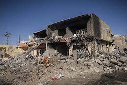 November 20, 2016 - Mosul, Nineveh Governorate, Iraq - Ruins of Mosul (Credit Image: © Bertalan Feher via ZUMA Wire)