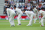 England slips waiting for a chance during the 3rd International Test Match 2018 match between England and India at Trent Bridge, West Bridgford, United Kingdon on 18 August 2018.