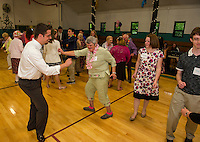 "There was a ""whole lot of shaking going on"" on the Laconia Community Center dance floor Thursday evening during Laconia High School's Senior / Senior Hawaiian themed prom.  (Karen Bobotas/for the Laconia Daily Sun)"