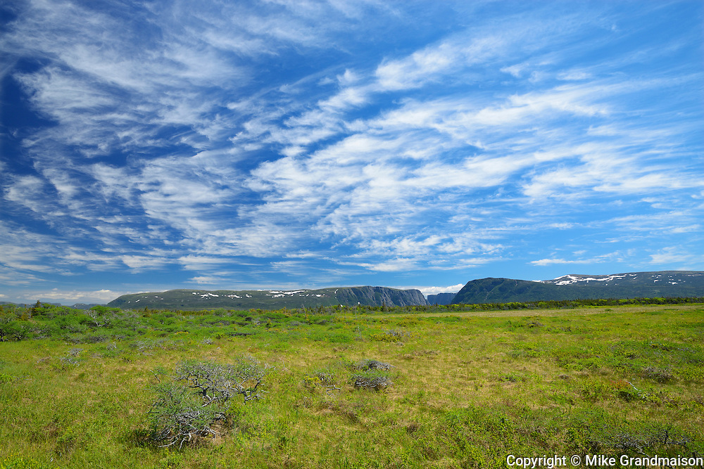 Clouds at Western Brook Pond<br />Gros Morne National Park<br />Newfoundland & Labrador<br />Canada