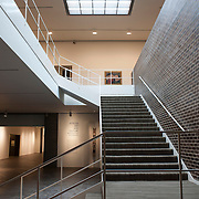 August 20, 2012 - Purchase, NY : The cascading stairs at the Neuberger Museum of Art at SUNY Purchase. The building was designed by Architect Philip Johnson. CREDIT: Karsten Moran for The New York Times