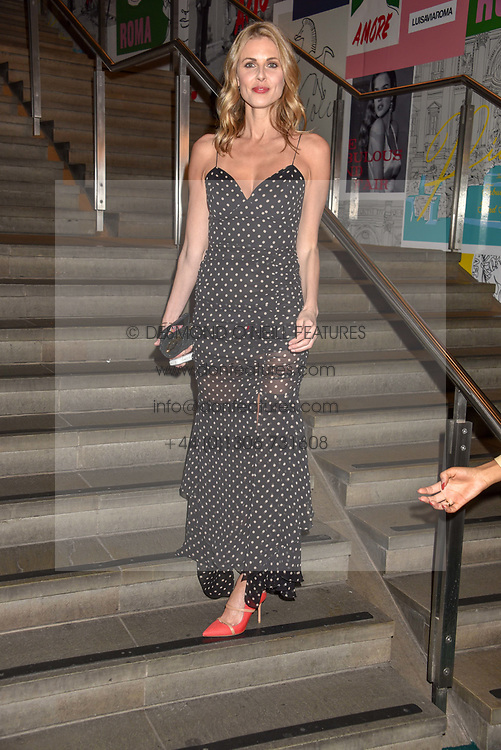 Donna Air at the Fabulous Fund Fair in aid of Natalia Vodianova's Naked Heart Foundation in association with Luisaviaroma held at The Round House, Camden, London England. 18 February 2019.