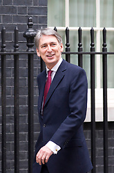 © Licensed to London News Pictures. 07/01/2013. London, UK. The Defence Secretary Philip Hammond is seen on Downing Street in London today (07/01/13) before the first cabinet meeting of 2013. Photo credit: Matt Cetti-Roberts/LNP