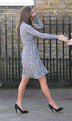 The Duchess of Cambridge arriving Hope House in London, Tuesday, 19th February 2013  Photo by: Stephen Lock / i-Images