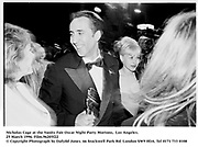 Nicholas Cage at the Vanity Fair Oscar Night Party Mortons,  Los Angeles. 25 March 1996. Film.96205f22<br />&copy; Copyright Photograph by Dafydd Jones<br />66 Stockwell Park Rd. London SW9 0DA<br />Tel 0171 733 0108