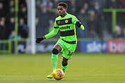 Forest Green Rovers Reece Brown(10) during the EFL Sky Bet League 2 match between Forest Green Rovers and Crewe Alexandra at the New Lawn, Forest Green, United Kingdom on 22 December 2018.