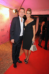 PHIL TUFNELL and his wife DAWN at the End of Summer Ball in support of The Prince's Trust in Berkeley Square, London on 25th September 2008.