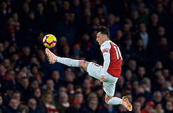 LONDON, ENGLAND - Saturday, November 3, 2018: Arsenal's Mesut Özil during the FA Premier League match between Arsenal FC and Liverpool FC at Emirates Stadium. (Pic by David Rawcliffe/Propaganda)