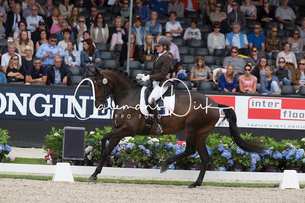 Serre Anne-Sophie, FRA, Actuelle de Massa<br /> World Championship Young Dressage Horses <br /> Ermelo 2016<br /> &copy; Hippo Foto - Leanjo De Koster<br /> 29/07/16