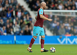 James Collins of West Ham United - Mandatory by-line: Paul Roberts/JMP - 16/09/2017 - FOOTBALL - The Hawthorns - West Bromwich, England - West Bromwich Albion v West Ham United - Premier League