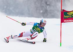 Loic Meillard of Switzerland during 1st run of Men's Giant Slalom race of FIS Alpine Ski World Cup 57th Vitranc Cup 2018, on 3.3.2018 in Podkoren, Kranjska gora, Slovenia. Photo by Urban Meglič / Sportida