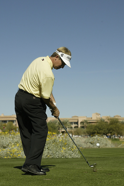 David Toms..2003 Phoenix Open.TPC at Scottsdale, Scottsdale, AZ..January  26, 2003..Photograph by Darren Carroll..X67646