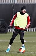 Phil Jagielka of Sheffield Utd during a training session at the Steelphalt Academy, Sheffield. Picture date: 5th March 2020. Picture credit should read: Simon Bellis/Sportimage