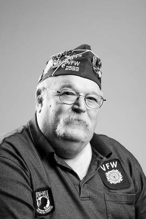 Dennis Ecker<br /> Navy<br /> RD3<br /> Radar Maintenance<br /> Advisor to Vietnam<br /> 1969 - 1972<br /> Vietnam<br /> <br /> Veterans Portrait Project<br /> St. Louis, MO