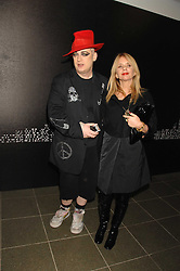BOY GEORGE and ROSANNA ARQUETTE at a party to celebrate the launch of DKNY's new fragrance for women Delicious, held at The Serpentine Gallery, Kensington gardens, London on 12th December 2007.<br /><br />NON EXCLUSIVE - WORLD RIGHTS