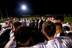 England U20 huddle after victory over Scotland U20 - Mandatory by-line: Robbie Stephenson/JMP - 07/02/2020 - RUGBY - Myreside - Edinburgh, Scotland - Scotland U20 v England U20 - Six Nations U20