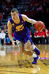 NORMAL, IL - December 31: Spencer Haldeman during a college basketball game between the ISU Redbirds and the University of Northern Iowa Panthers on December 31 2019 at Redbird Arena in Normal, IL. (Photo by Alan Look)