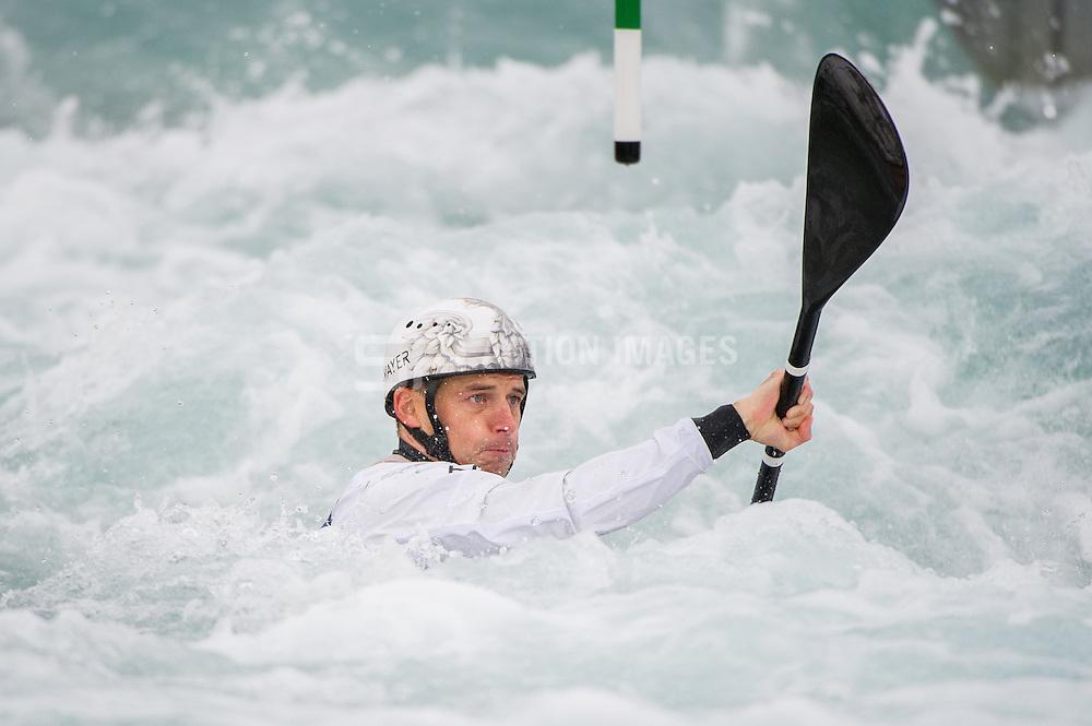 K1 Men - ICF Canoe Slalom World Championships, Lee Valley Whit Water Centre, London, UK on 18 September 2015. Photo: Simon Parker