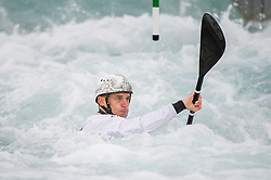 K1 Men - ICF Canoe Slalom World Championships, Lee Valley Whit Water Centre, London, UK on 18 September 2015. Photo: Simon Parker