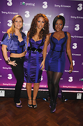 Pop group The SUGABABES at a party to celebrate the launch of the new purple Sony Ericsson K770i phone held at the Bloomsbury Ballroom, Bloomsbury Square, London on 24th October 2007.<br />