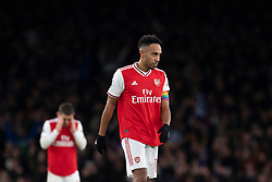 LONDON, ENGLAND - Thursday, December 5, 2019: Arsenal's captain Pierre-Emerick Aubameyang during the FA Premier League match between Arsenal FC and Brighton & Hove Albion FC at the Emirates Stadium. (Pic by Vegard Grott/Propaganda)