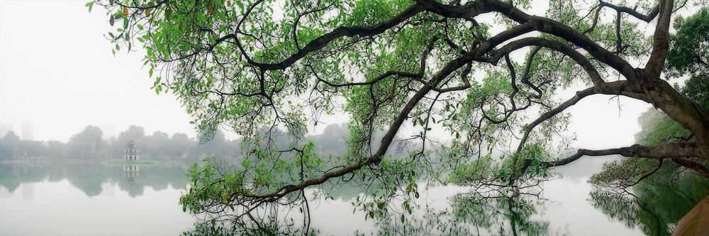 Vietnam Images-panoramic landscape- Ha Noi