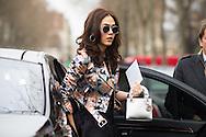 Araya Alberta Hargate at Dior Couture SS2015