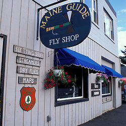 Greenville, Maine. Northern Forest. Tourism. The Maine Guide Fly Shop.