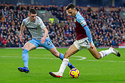 Burnley forward Dwight McNeil (31) during the Premier League match between Burnley and West Ham United at Turf Moor, Burnley, England on 30 December 2018.