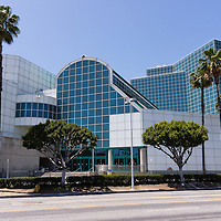 Picture of Los Angeles Convention Center in downtown Los Angeles California. Photo is high resolution and was taken in 2012.
