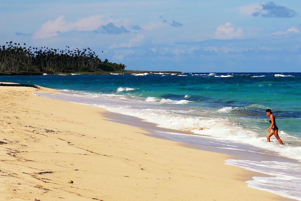 Playa Maguana area, Baracoa, Cuba.