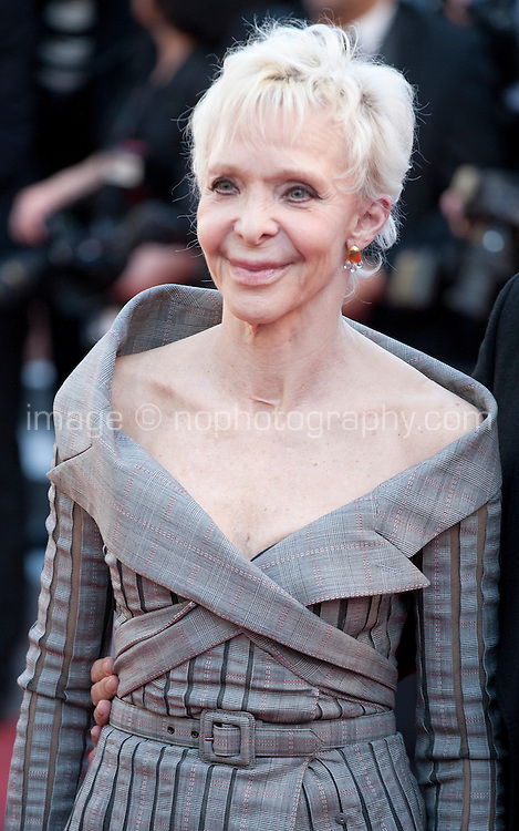 Tonie Marshall at the gala screening for the film Mal De Pierres (From the Land of the Moon) at the 69th Cannes Film Festival, Sunday 15th May 2016, Cannes, France. Photography: Doreen Kennedy
