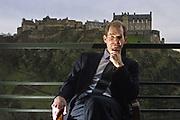 David Stevenson, Fund Manager at Scottish Value Management in Edinburgh. Pic By Mark K Jackson 16.02.01.
