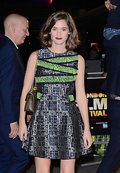 Sia Bennett attends BFI LFF  Premiere of Face Of An Angel  at Odeon, West Wnd, Leicester Square on Saturday 18th October 2014
