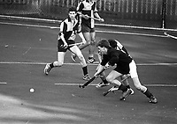 Kilkenny College Vs Kings Hospital in the Leinster Schools Senior Cup in Grange Road, 11/03/1987 (Part of the independent Newspapers Ireland/NLI Collection).