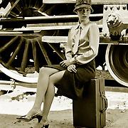 "Editorial fashion shoot ""Dust Rolls Like Thunder"" | Garage Magazine"