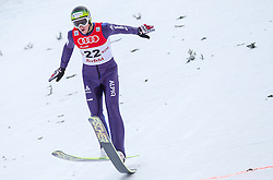 18.01.2014, Casino Arena, Seefeld, AUT, FIS Weltcup Nordische Kombination, Seefeld Triple, Skisprung, im Bild Tim Hug (SUI) // Tim Hug (SUI) during Ski Jumping at FIS Nordic Combined World Cup Triple at the Casino Arena in Seefeld, Austria on 2014/01/18. EXPA Pictures © 2014, PhotoCredit: EXPA/ JFK