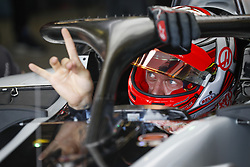 March 24, 2018 - Melbourne, Victoria, Australia - MAGNUSSEN Kevin (dnk), Haas F1 Team VF-18 Ferrari, portrait during 2018 Formula 1 championship at Melbourne, Australian Grand Prix, from March 22 To 25 - s: FIA Formula One World Championship 2018, Melbourne, Victoria : Motorsports: Formula 1 2018 Rolex  Australian Grand Prix, (Credit Image: © Hoch Zwei via ZUMA Wire)
