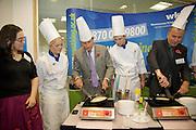 Sebastian Coe Visits Employment Fair